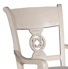 Almond Lenchen Armchair, Pair - Arm Chairs - Dining Chairs - Dining Room - Furniture  One Kings Lane #Pair#Arm#Armchair