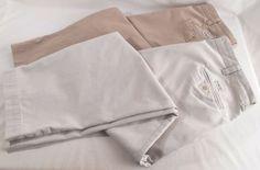 POLO RALPH LAUREN Mens Pants Chino Flat Front Cotton Size 40 x 29 Philip 2 Pair #PoloRalphLauren #chino #menspants #pants