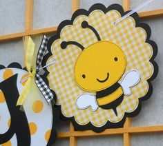 bee birthday banner
