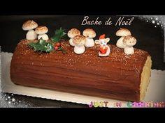 ❅ Recette de Bûche de Noël au Praliné et Chocolat ❅ - YouTube