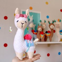 Pacha Llama Crochet Pattern | Etsy Crochet Animal Patterns, Crochet Doll Pattern, Stuffed Animal Patterns, Crochet Patterns Amigurumi, Crochet Animals, Doll Patterns, Halloween Toys, Doll Tutorial, Diy Pillows