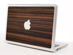 I Am Human Now - Wood Veneer and Fabric  Macbook Pro Covers.