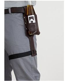 Beer holster with bottle opener - perfect guy gift!