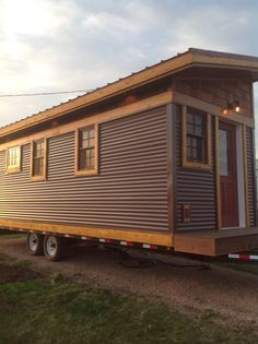 Twenty grand for a fully finished, well insulated, cedar and sheet metal tiny house on wheels? That's the Badger, the first model from two-year-old family-owned builder Cedar Ridge Tiny Homes of Spearfish, South Dakota, and that's got to be worth a second look. The 200-square-foot Badger has clean looking horizontal lines inside and out, a shed style roof that holds a roomy sleeping loft, ...