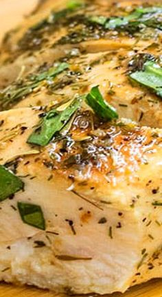 Quick and easy Greek chicken marinade recipe, requiring 10 minutes of prep time and simple ingredients. Makes the best baked or grilled Greek chicken. Turkey Dishes, Turkey Recipes, Pork Recipes, Dinner Recipes, Chicken Marinade Recipes, Chicken Marinades, Food Dishes, Main Dishes, Greek Chicken