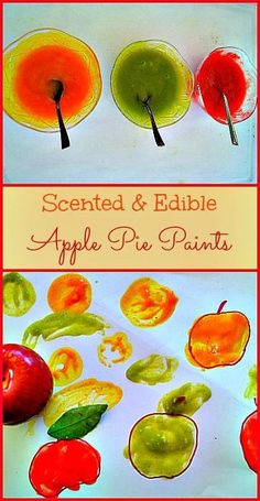 Autumn Apple Craft Ideas for Kids {Roundup} - The Inspired Home