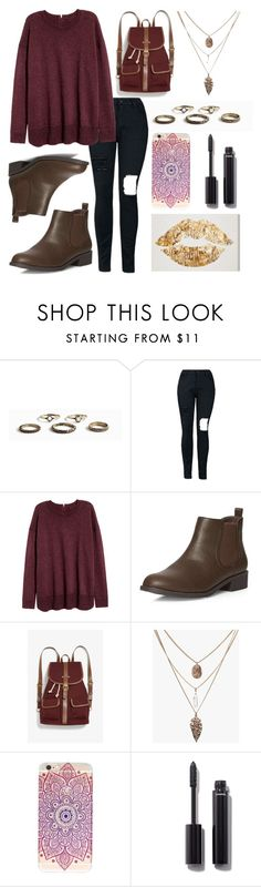 """School days"" by emcraff ❤ liked on Polyvore featuring Dorothy Perkins, Monki and Chanel"