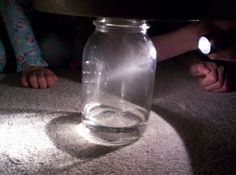 Almost Unschoolers: Shapes in the Sky, and Clouds in a Jar