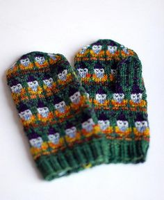 Gnome mittens finished