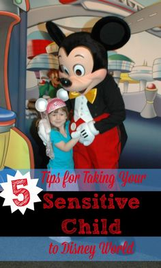 5 easy things you can do to help children with sensory issues enjoy their time at Disney World