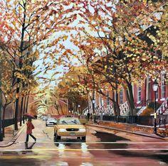 Fall, Greenwich Village, New York City