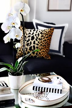 Leopard is a Neutral // Living Room Stying