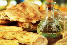 Greek Recipe: Homemade Puffy Pita Bread - 12 Tomatoes