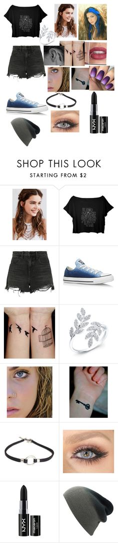 """""Dylan!"" ~Jay Bleu"" by bleu-hale16 ❤ liked on Polyvore featuring REGALROSE, Alexander Wang, Converse and NYX"