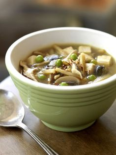 Slow cooker vegan Hot and Sour Soup will warm you up and comfort you when you have a cold too!