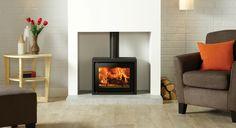 Riva Studio 500 Freestanding Wood Burning Stove - Stovax Stoves