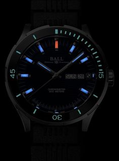 The Ball for BMW TimeTrekker is water resistant to 200 meters with 14 tritium tubes on its dial and hands for legibility in the dark. More @ http://www.watchtime.com/wristwatch-industry-news/watches/close-up-ball-for-bmw-timetrekker-limited-edition/ #ballwatches #watchtime #menswatches #watchnerd