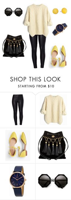 Looking chic by laura-paasivirta on Polyvore featuring Venus, Talbots, Miu Miu, DKNY, Kate Spade, Leather, basics and wool