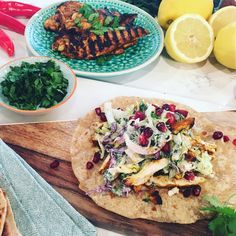 If you're on a summer health kick but craving some comfort food, Hersha Patel's in the kitchen with a multicultural Monday night meal. Giving Mexican tacos an Indian twist, she's raiding the spice cupboard to cook charred chicken chapati wraps.