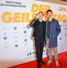 Matthias Schweighöfer und Florian David Fitz: Kreischalarm in der Lichtburg Essen Florian David Fitz