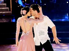 """Dancing With the Stars - Val Chmerkovskiy & Rumer Willis danced an intense foxtrot to Hozier's """"Take Me To Church"""" - week-1 - season 20 - spring 2015 - This pair got the highest score of the night"""