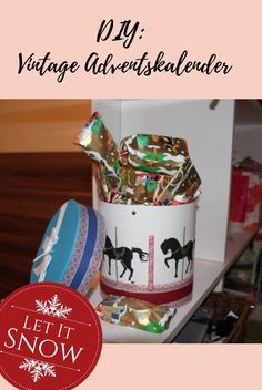 DIY Adventskalender, Karussell, Vintage, Vintagelover, Christmas is coming My Christmas Wish List, Christmas Wishes, Vintage Diy, Mermaids, Pirates, German, Inspiration, Carousel, Group