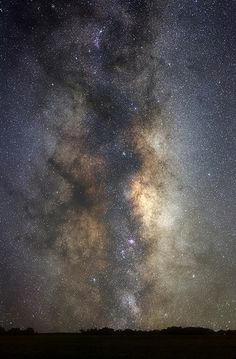 The Great Milky Way Galactic Center| Flickr - Luis Argerich