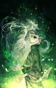 Mushishi | Artland | Yuki Urushibara / Ginko and Nui / 「蟲師ログまとめ」/「村」のイラスト [pixiv] [06]