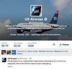 US Airways Social Media Screwup: When My Work and Hobbies Collide