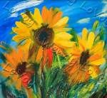 Sunflowers by Sips N Strokes