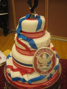 3 cake tiger, scout, eagle | Decadent Designs: Eagle Scout Court of Honor