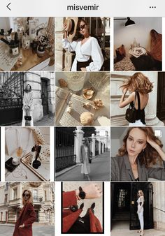 Instagram Feed Ideas Posts, Best Instagram Feeds, Instagram Grid, Instagram Design, Feed Insta, Classy Aesthetic, Marca Personal, Fashion Pictures, Instagram Fashion