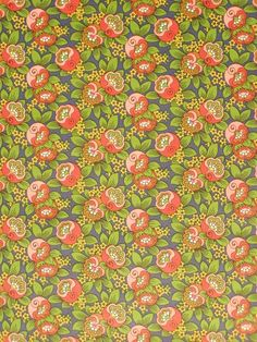 Original vintage retro wallpaper with floral design in vibrant colors of red and blue. Wallpaper For Sale, Antique Wallpaper, Brown Wallpaper, Wallpaper Space, Damask Wallpaper, Retro Wallpaper, Geometric Wallpaper, Wallpaper Online, Motif Vintage