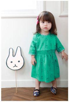 ミュミュワンピース(ミントグリーン) : かわいい!絵本みたいな子供服!ANNIKA アニカ 2012春夏COLLECTION 韓国 - NAVER まとめ