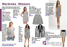 Joomag - MagInfo  Wardrobe Winners.  Eight different pieces that you can add to your wardrobe.  #fashionstyle   #fashion #style #fashionblog #styleblog #dressforyourshape #bodyshape #pearbodyshape #applebodyshape #invertedtrianglebodyshape #columnbodyshape