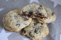 Perfekte Chocolate Chip Cookies... so weich... so lecker