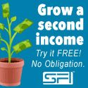 Grow a second income. Home-Based Business. Add a second paycheck. Get started FREE. Start seeing money within a few weeks! Join us now as an Affiliate, Business Owner or an E-Commerce Associate (ECA). Register FREE and grab a Signing Bonus of $100 at http://www.sfi4.com/12240620.300/free