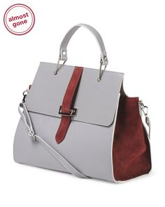 Made+In+Italy+Convertible+Satchel
