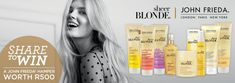 Read more about John Frieda Sheer Blonde® & stand to win! New Paris, Bombshells, Hair Care, Box, Products, Snare Drum, Hair Care Tips, Hair Treatments