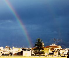 Rainbow in Mazara del Vallo