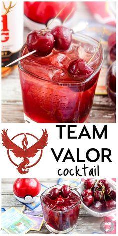 Team Valor Cocktail