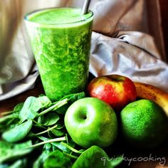 Quirky Cooking: healthy green boost juice
