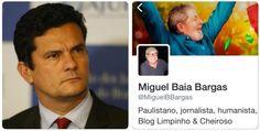 Sérgio Moro apresentou representação contra blogueiros petistas por crimes contra sua honra. MPF faz intimação