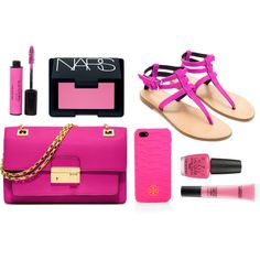 """pink"" by ErinMarco on Polyvore"