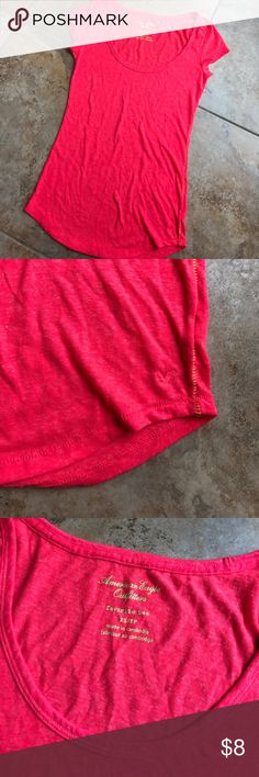 American eagle swoop neck top Perfect condition never worn American Eagle Outfitters Tops Tees - Short Sleeve