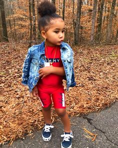 """Thug wit me"" – Corinne Triplett – KinderMode Cute Mixed Babies, Cute Black Babies, Black Baby Girls, Fashion Kids, Baby Girl Fashion, Toddler Fashion, Fall Fashion, Cute Little Girls Outfits, Kids Outfits Girls"