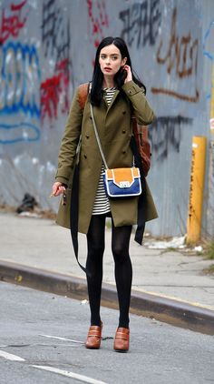 VOGUE-Celebs estilo off duty - Krysten Ritter