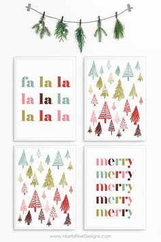 Celebrate the most wonderful time of year by decorating with these simple Home Decor Christmas Prints. Free and easy to download you can decorate in no time at all. #christmasdecoratingideas #freeprintables #Christmasprints #Christmasprintables #freeprintablechristmasdecor Holiday Decorations, Holiday Crafts, Holiday Ideas, Free Printable Calendar, Printable Wall Art, Free Christmas Printables, Free Printables, Christmas Mugs, Vintage Christmas