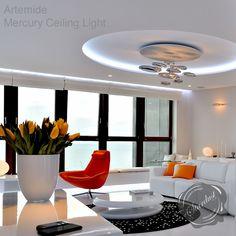 Artemide Mercury Ceiling Light by Ross Lovegrove