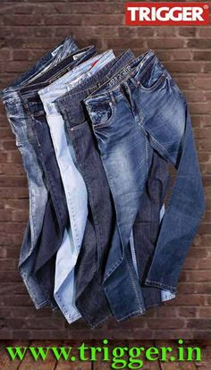 The men's fashion brand TRIGGER jeans.. New arrivals Only at : http://www.trigger.in